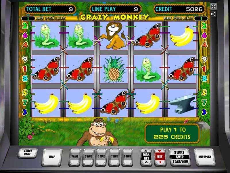 игровые автоматы обезьян бесплатно